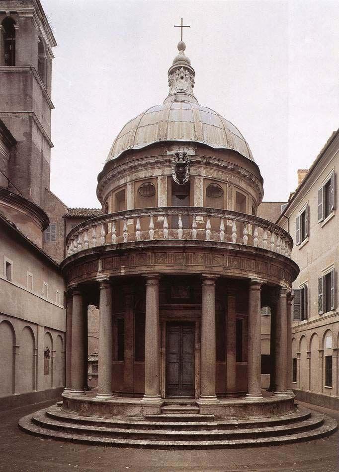 Tempietto at San Pietro in Montorio, Rome, 1502