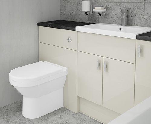 Pescara - A Blackstone Gloss countertop will contrast beautifully with Pescara's sleek design.