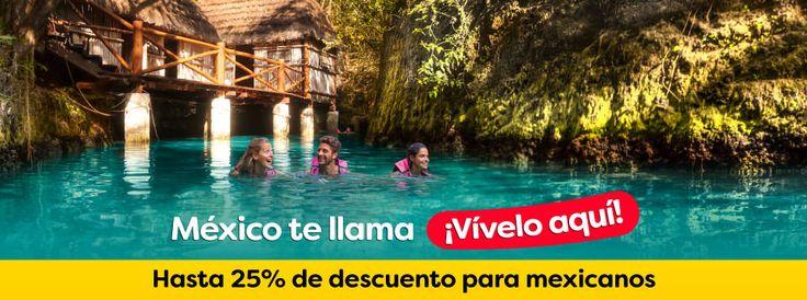 Experiencias Xcaret es una compañía 100% mexicana, líder en parques naturales y de aventura, en donde se combina el respeto por la naturaleza con el amor por México. Brindamos a cada uno de nuestros visitantes momentos únicos en medio de paisajes espectaculares, complementados con experiencias llenas de la riqueza cultural que distingue a nuestro país.