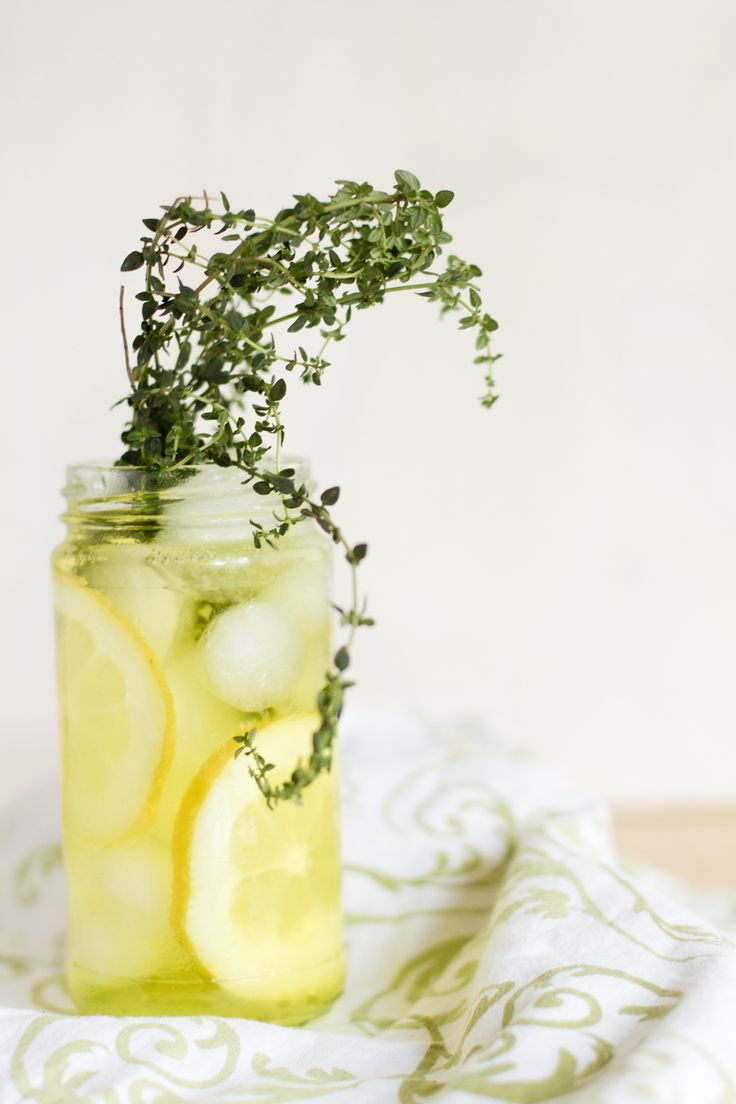 Lemon Thyme Spritzer - Click for Recipe