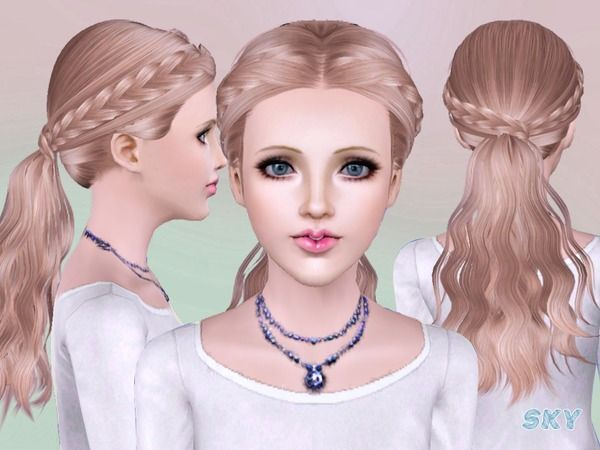 Skysims hairstyle 270 by The Sims Resource for Sims 3 - Sims Hairs ...