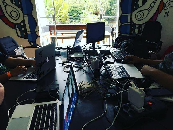 Etapa Final Hackaflag 2016  Bastidores Roadsec SP  #roadsec #hackaflag #hacker #hacking  #capturetheflag #ctf #developer #webdeveloper #php #programming #mysql #softwaredeveloper #webdesign #designer #workstation #java #codered #buildtheweb #building #code #js #javascript #css #css3 #programmer #webdev #agenciaweb #development