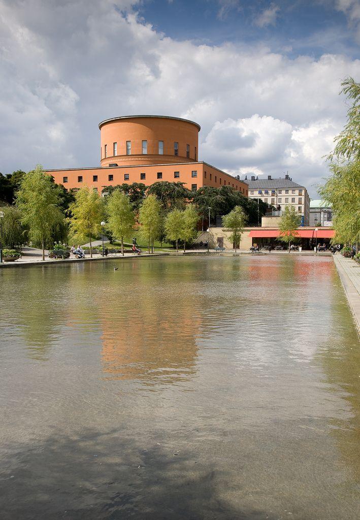 City Library, Stockholm by Erik Gunnar Asplund 1918-28