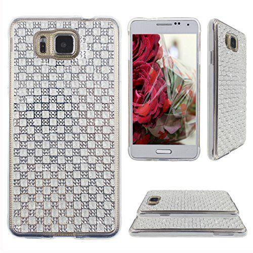 Asnlove per Samsung Galaxy Alpha G850f Custodia Case Con Diamante di protezione di caso della copertura di Gel TPU silicone Soft Cell modelli pittura di colori-Argento Asnlove http://www.amazon.it/dp/B0142FW1M8/ref=cm_sw_r_pi_dp_Cm5Kwb05G067H
