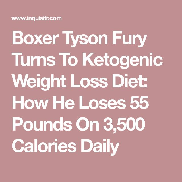 Boxer Tyson Fury Turns To Ketogenic Weight Loss Diet: How He Loses 55 Pounds On 3,500 Calories Daily