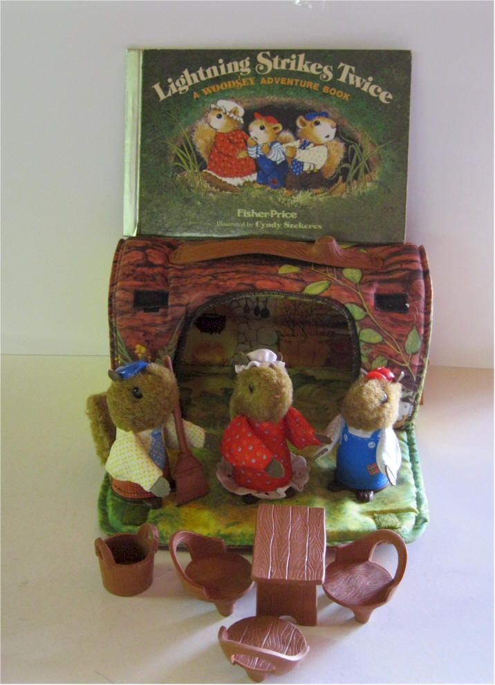 Woodsy Squirrel Family.  I still have mine!