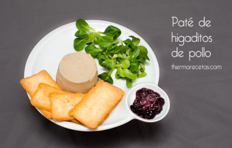 Paté Foie Gras de Higaditos de Pollo Thermomix