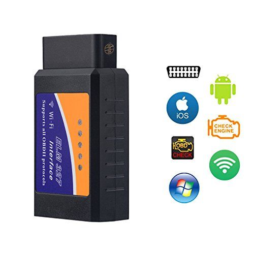 Car WIFI OBD 2, Yoolight Wireless OBD2 Car Code Reader Scan Tool ,Scanner Adapter Check Engine Diagnostic Tool for iOS Apple iPhone iPad Air Mini iPod Touch & Andorid. For product info go to:  https://www.caraccessoriesonlinemarket.com/car-wifi-obd-2-yoolight-wireless-obd2-car-code-reader-scan-tool-scanner-adapter-check-engine-diagnostic-tool-for-ios-apple-iphone-ipad-air-mini-ipod-touch-andorid/