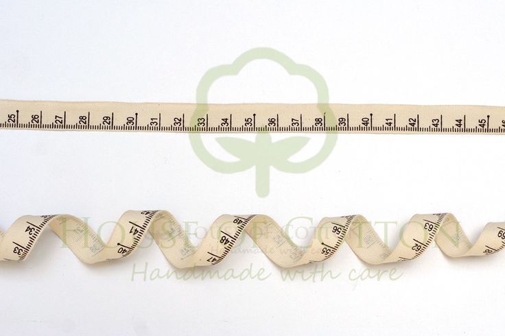 Tasiemka bawełniana centymetr