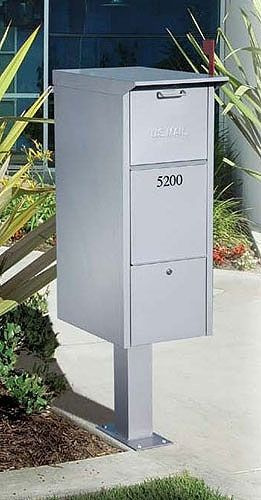 salsbury industries locking mail package drop locking mailboxes - Commercial Mailboxes
