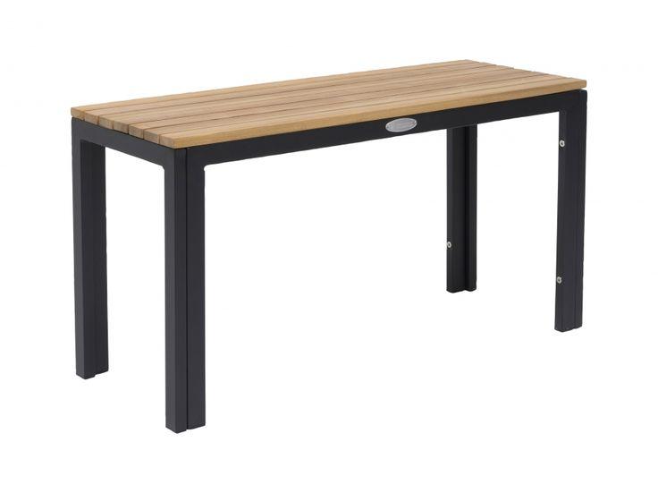 VIREN Bänk Svart/Ask i gruppen Utomhus / Soffor / Bänkar hos Furniturebox (100-12-94125)