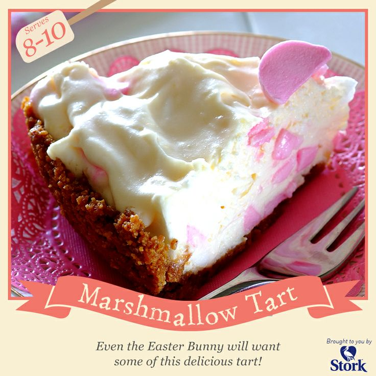 Marshmallow tart #recipe