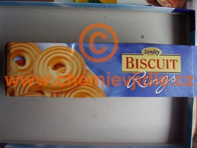 Lidl: Biscuit Rings (palmový tuk :o(  )