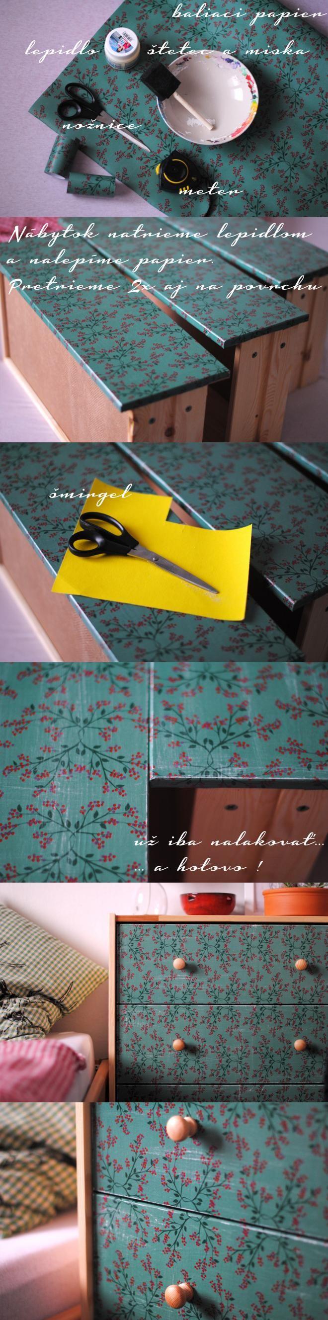 fotopostup - moje prvé prerábanie nábytku / PetiArt » SAShE.sk - slovenský handmade dizajn