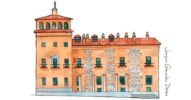 La casa de las Siete Chimeneas, un edificio con leyenda.