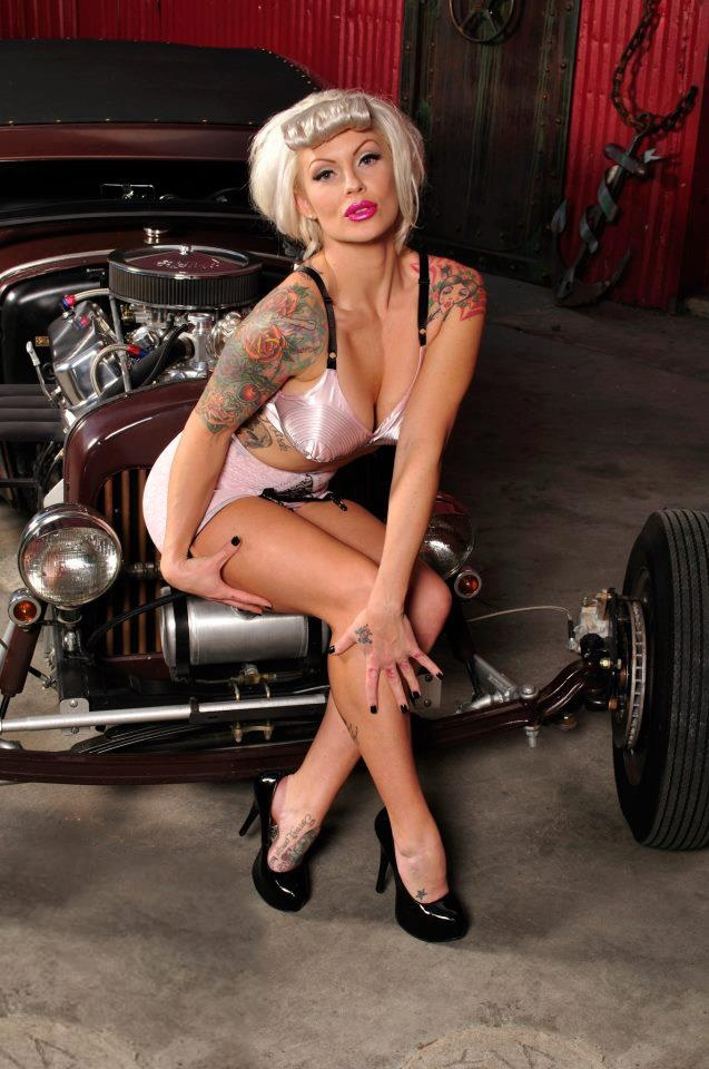 hot rod nude pin