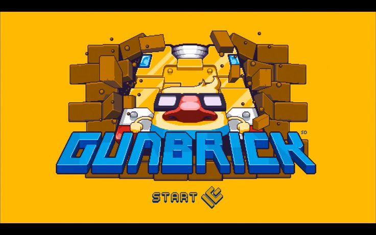 Ovviamente scegliete Gunbrick anche per lo stile in pixel art che tanto accompagna i giochi Nitrome, ed ancora una volta risulta una scelta vincente,