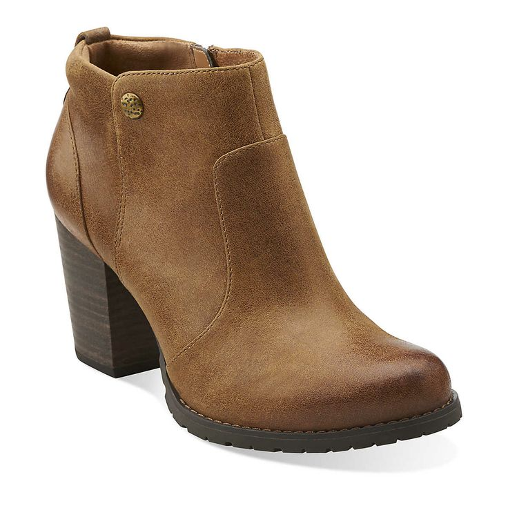 Mission Philby in Brown Leather - Womens Boots from Clarks · Betsey Johnson  BagsClark ShoesMinimalist ...