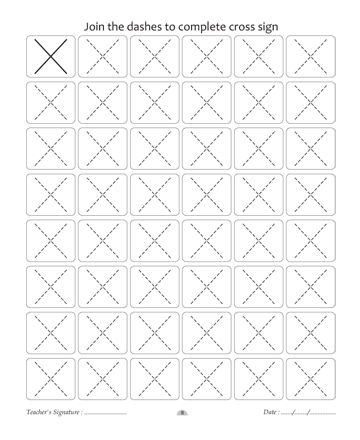 Pattern Writing 8 Sheet