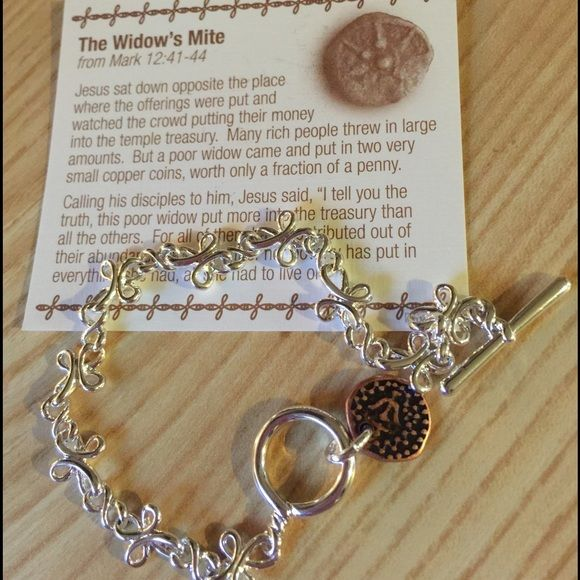 The Widows Mite Premier Designs toggle bracelet Premier Designs…