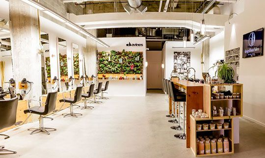 Design house salon victoria canada winner of the eco for Ada beauty salon