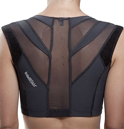 Intelliskin Women's Sports Bra. Helps you keep good posture while you areworking out and works your back muscles while you are wearing it!
