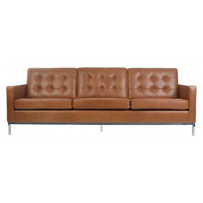 florence knoll sofa cognac 600 sofas pinterest florence knoll rh pinterest com