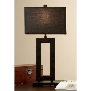 Mocha Metal Table Lamp with Dark Shade by I Love Living106 best floor and table lamps images on Pinterest   Table lamps  . Contemporary Table Lamps For Living Room. Home Design Ideas