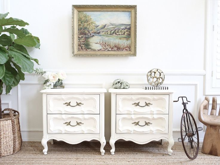 White Nightstand Side Table: Best 10+ White Nightstand Ideas On Pinterest