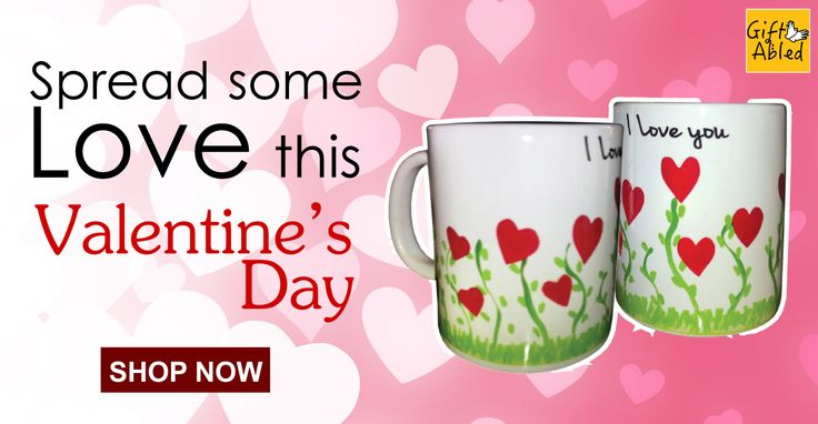 Your sweetheart won't be able to resist these cute and simple Valentine's Day coffee mugs. Check out our Valentine's special collection.
