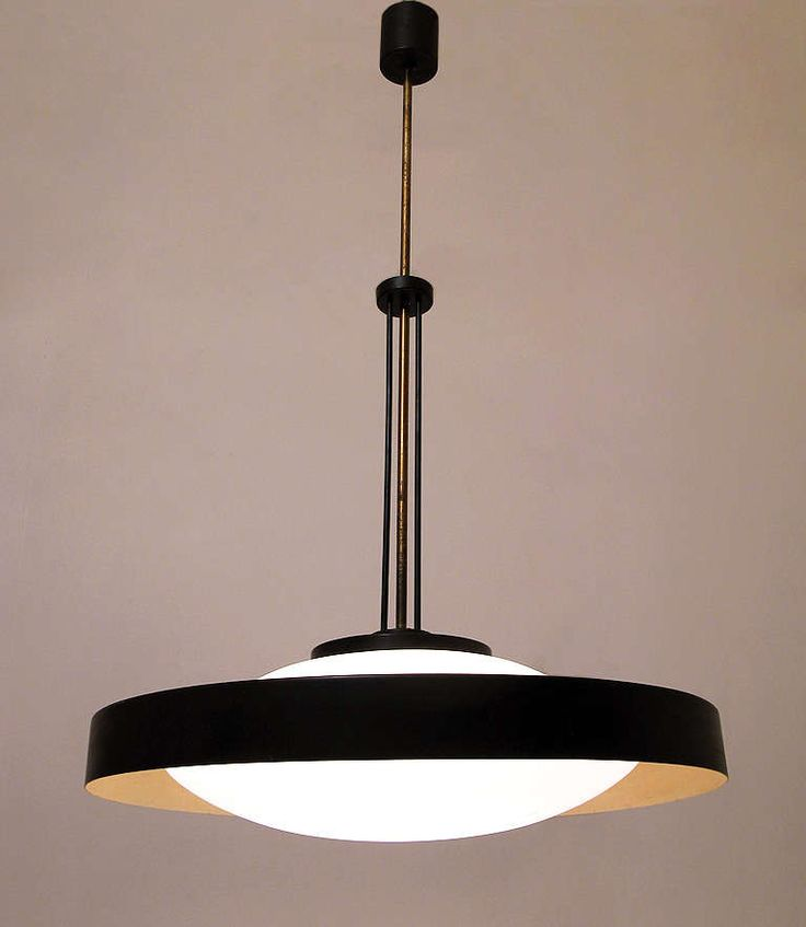 Fabulous 1960s Space-Age Ceiling Fixture by Stilnovo | From a unique collection of antique and modern chandeliers and pendants at http://www.1stdibs.com/furniture/lighting/chandeliers-pendant-lights/