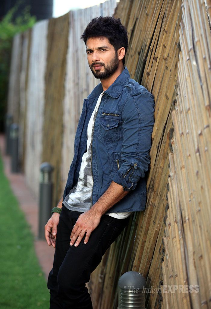Shahid Kapoor in a photoshoot for Screen.