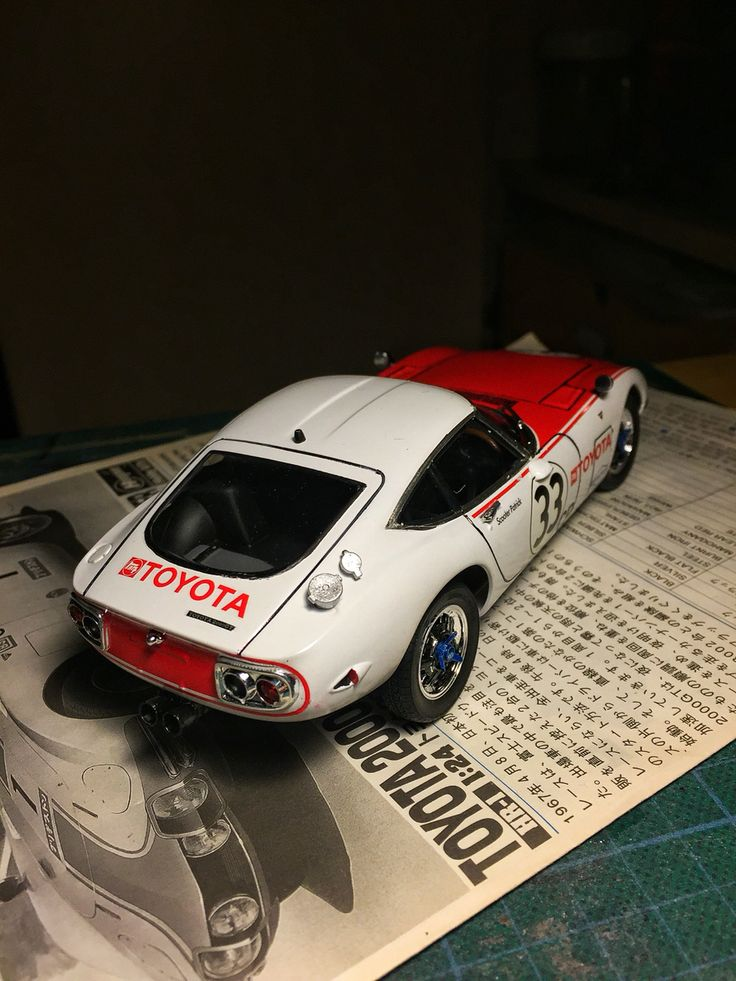 Toyota 2000GT Hasegawa 1/24