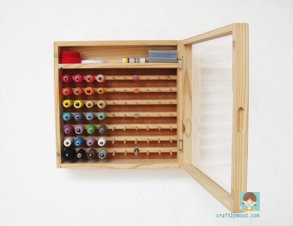 OT 1265 Thread Cabinet Organizer | craftbymood.com