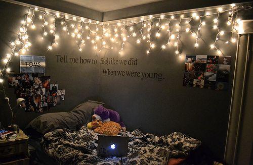 dream bedroom   TumblrDreams Bedrooms, Teenagers Bedrooms, Lights Photography, Christmas Lights, Room Ideas, Dreams Room, Bedrooms Quotes, Bedrooms Ideas, Teen Room
