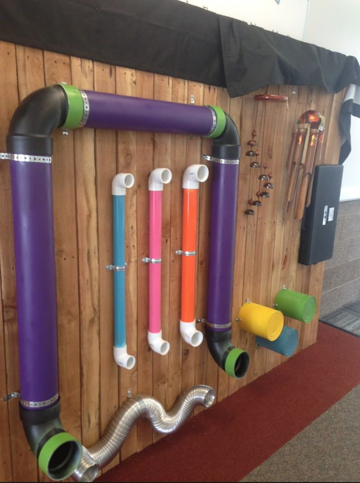 DIY SensoryMusic Wall for children with vision