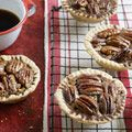 To use with my new tart shaper: Minis Pies, Tartlets Recipes, Southern Desserts, Food & Drink, Pies Recipes, Chocolates Pecans Tartlets, Country Living, Pecans Pies, Chocolate Pecans Tartlets
