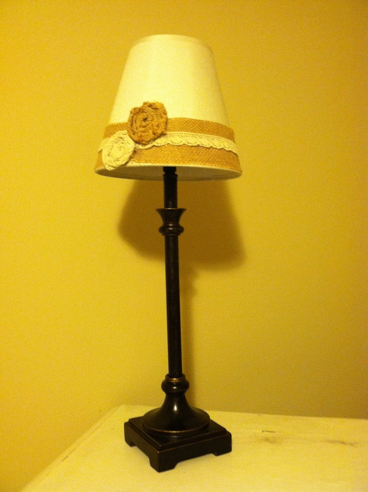 Lamp shade redo lamp shades pinterest shades lamps for Redoing lamp shades