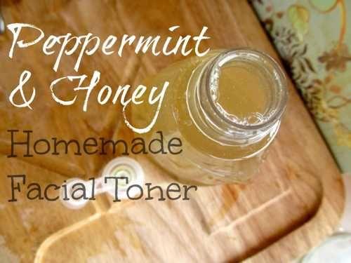 How To Make Homemade Peppermint And Honey Facial Toner...http://homestead-and-survival.com/how-to-make-homemade-peppermint-and-honey-facial-toner/