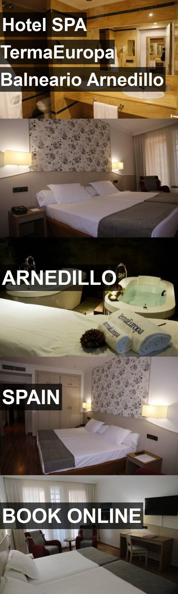 Hotel SPA TermaEuropa Balneario Arnedillo in Arnedillo, Spain. For more information, photos, reviews and best prices please follow the link. #Spain #Arnedillo #travel #vacation #hotel