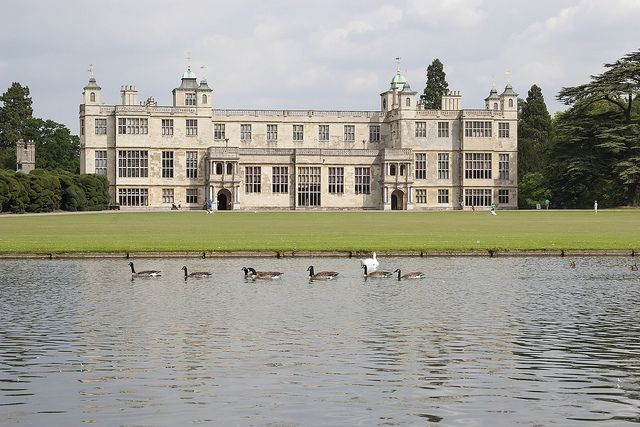 Audley End House, Saffron Walden, Essex. Owned by English Heritage.