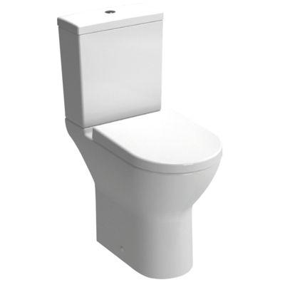 Pack WC caréné surélevé sortie horizontale Blanc - AQUANCE Réf. ARBO 11010