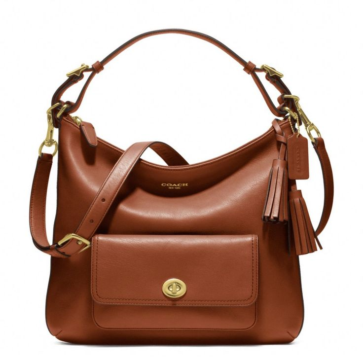 Leather Courtenay hobo style: f22381