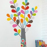 Found it at AllModern - Ludo Colourful Tree Wall Decal