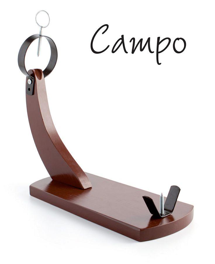 Jamonero 'Campo', cómodo, estético y de calidad