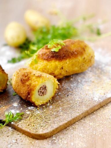Boulettes de Tata Simone : boulettes de pommes de terre farcies