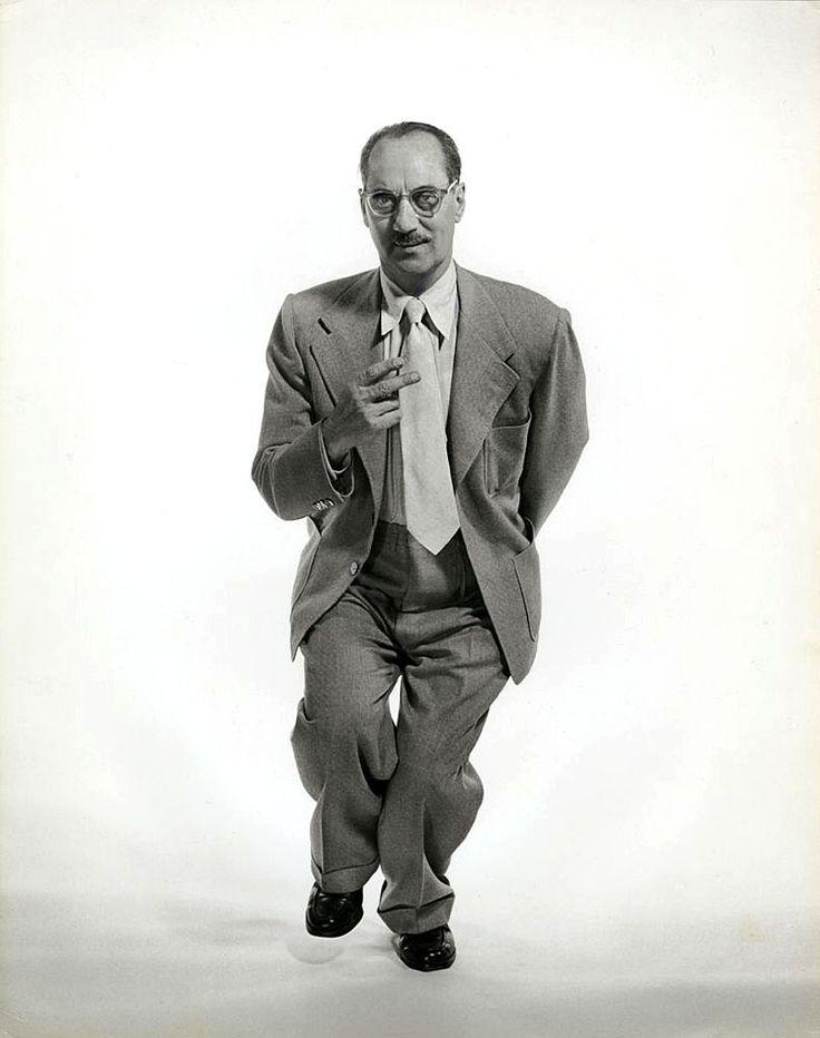 Groucho Marx, por Philippe Halsman, 1952