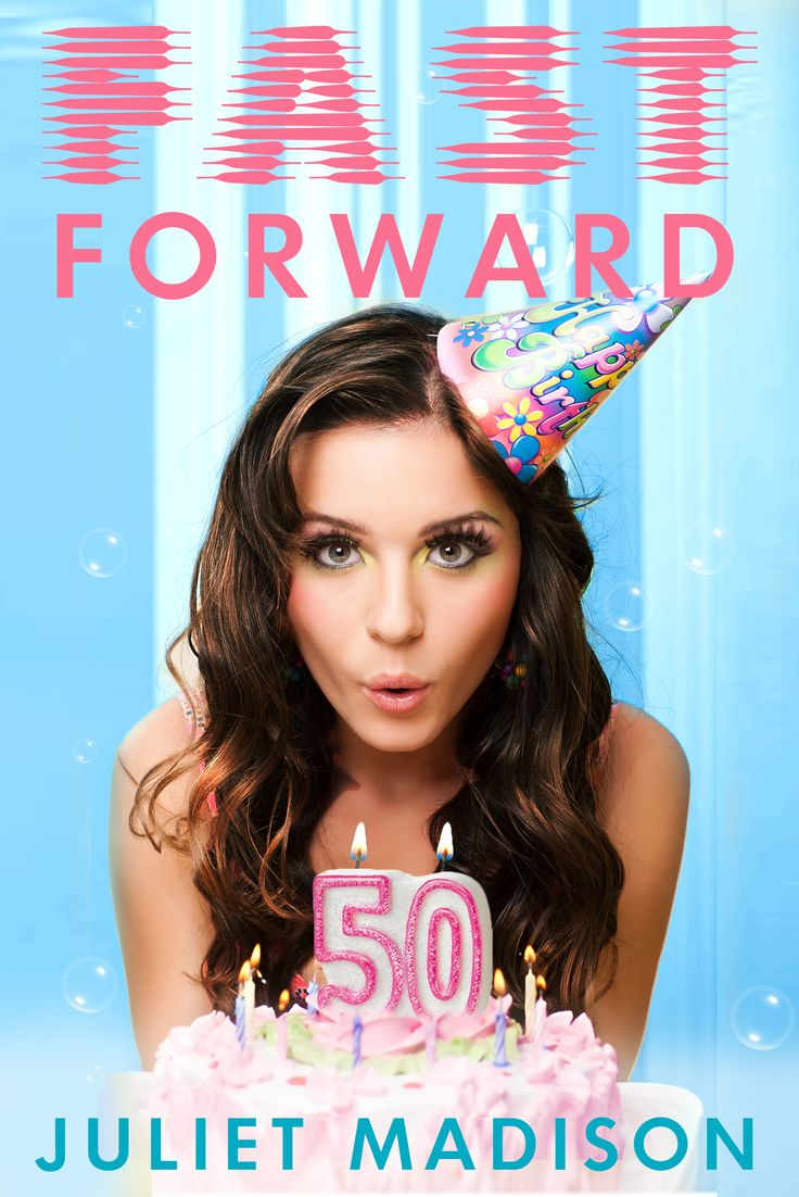 Fast Forward - a romantic comedy available Feb 1st from Escape Publishing.   Aspiring supermodel Kelli Crawford seems destined to marry her hotshot boyfriend, but on her 25th birthday she wakes in the future as a fifty-year-old suburban housewife married to the now middle-aged high school nerd.   http://www.escapepublishing.com.au   http://www.julietmadison.com