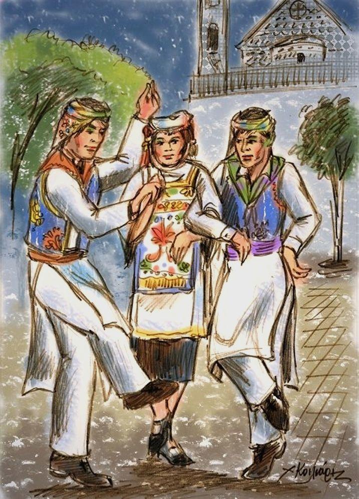 Πυργούσικος χορός