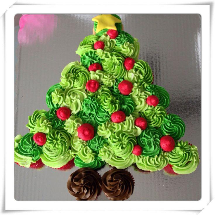 Sweet  Cupcake Cake Ideas